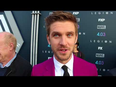 "DAN STEVENS DISCUSSES THE NEW SEASON OF ""LEGION"""