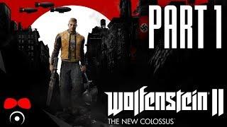 NÁCKOVÉ UTÍKEJTE! | Wolfenstein 2: The New Colossus #1