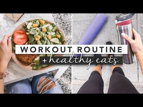 Let's Get Fit: Fitness Routine and Healthy Eating | by Erin Elizabeth