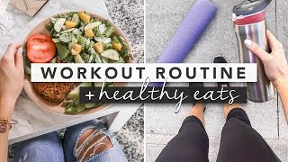 Hey guys! today's video i'm sharing with you a workout routine, as well some healthy eating ideas. this routine is one i do pretty often, and it's...