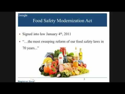 Fast Facts on FSMA: FDA Voluntary Qualified Importer Program (VQIP)