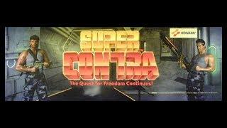 Super Contra (Arcade) - Mike Matei Live