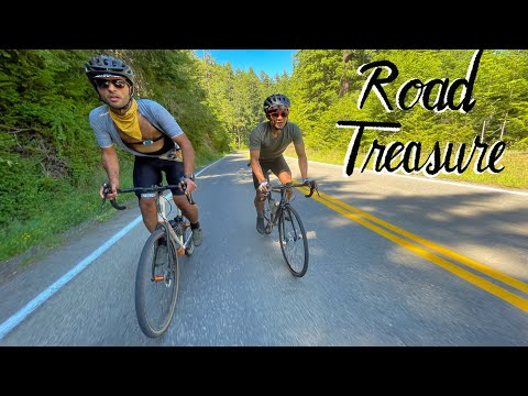 🚲 Cycling in the Olympics (National Park)  🗺️ Bicycle Treasure Hunt and CRASH 💥 thumbnail
