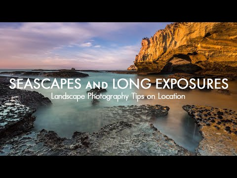 Seascapes and Long Exposure at Sunrise