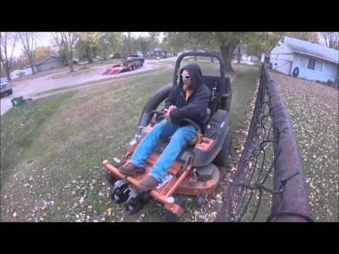 Scag Freedom Z 48 Quot Deck Grass Collection System Youtube