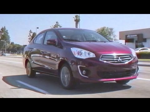 2017 Mitsubishi Mirage – Review and Road Test
