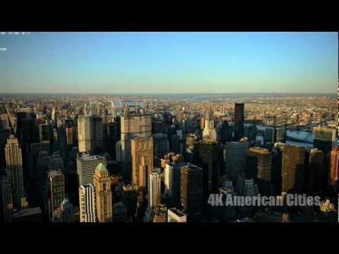 Ultra HD 4K Tourism Time Lapse Photography American Travel Tourist Sights UHD Video Stock Footage