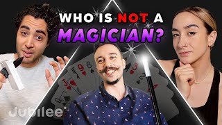 6 Magicians vs 1 Fake Magician | Odd Man Out