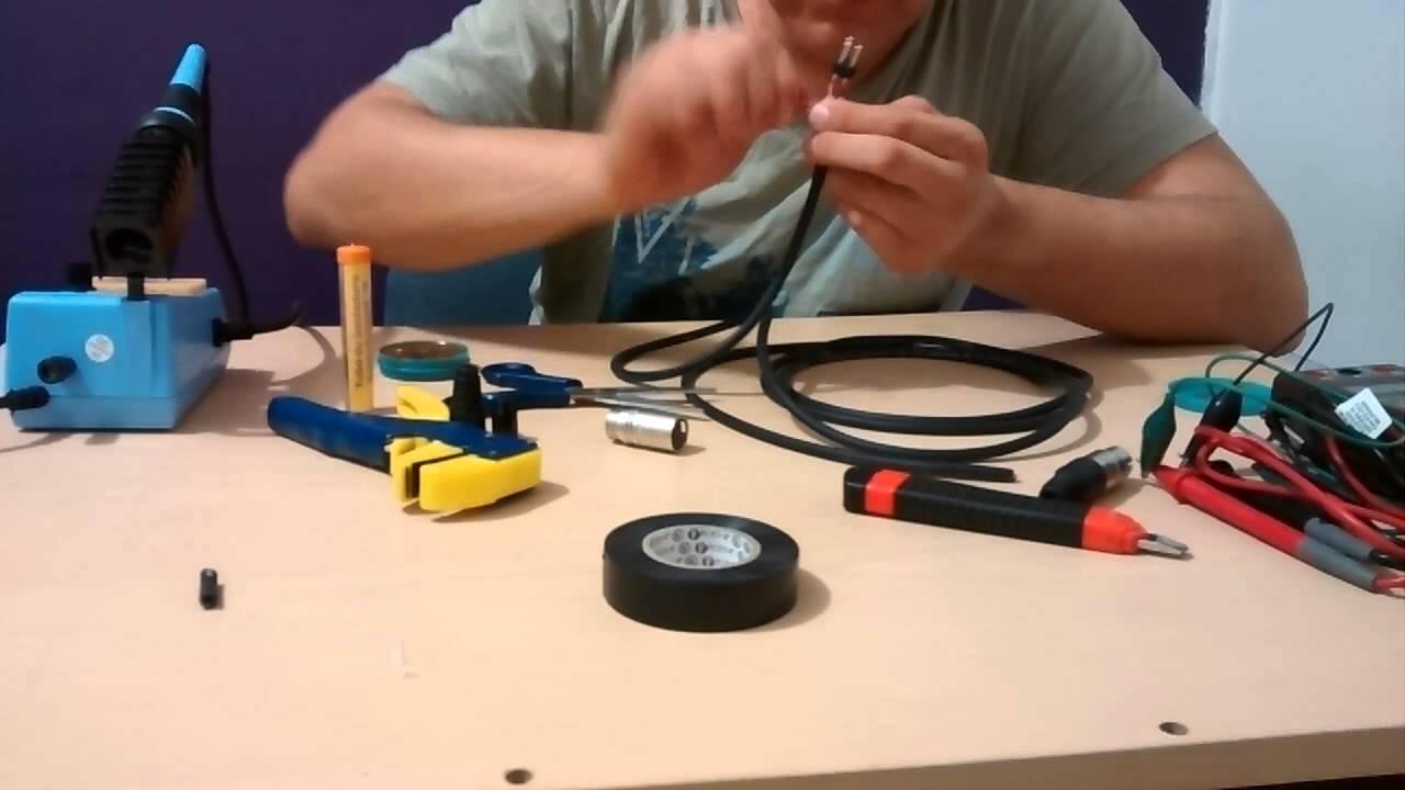 Como Hacer Un Cable Balanceado Xlr O Cannon Youtube