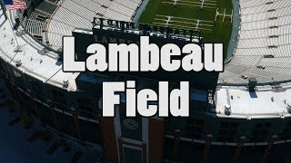 Lambeau Field Green Bay Wisconsin DJI Spark Drone Bing Err HD