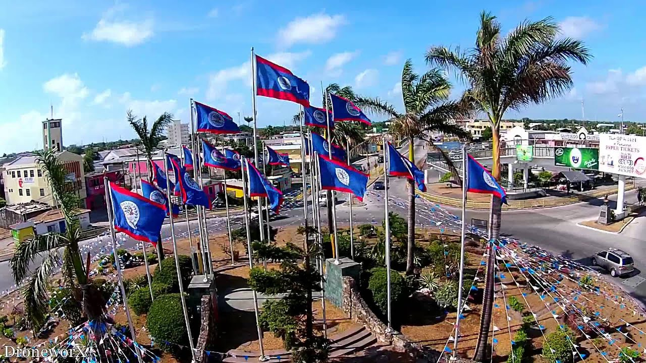 belize independence flags hd youtube