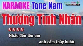 Thương Tình Nhân Karaoke 8795 |Tone Nam - Nhạc Sống Thanh Ngân