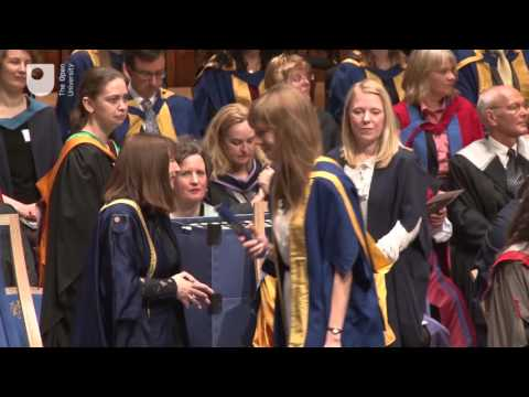 London degree ceremony, Saturday 23 April 10:45