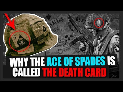 Why some soldiers carry the Ace of Spades