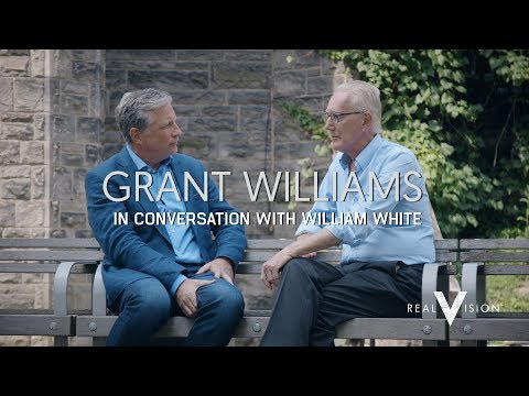Credit, Debt, & Policy  Grant Williams in Conversation with William White