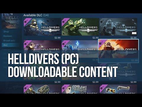Helldivers (PC) - Downloadable Content