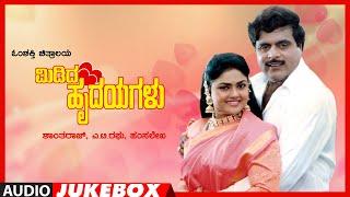 Midida Hrudayagalu Kannada Movie Songs Audio Jukebox   Ambareesh, Shruti, Nirosha   Hamsalekha