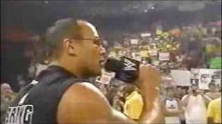 The Rock completely owns Triple H