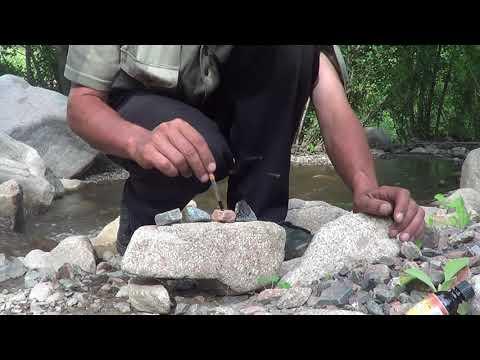 25 Горная речка и речные камни 1