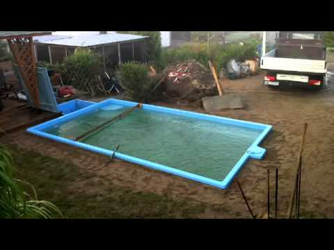 projekt pool der einbau tag 7 youtube. Black Bedroom Furniture Sets. Home Design Ideas