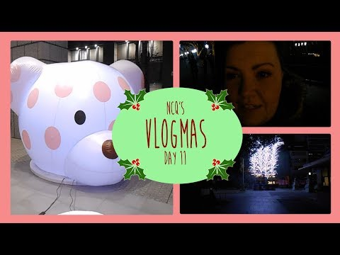 🎄Exploring the lights and street art in Osaka🎄 Vlogmas 2017 Day 11