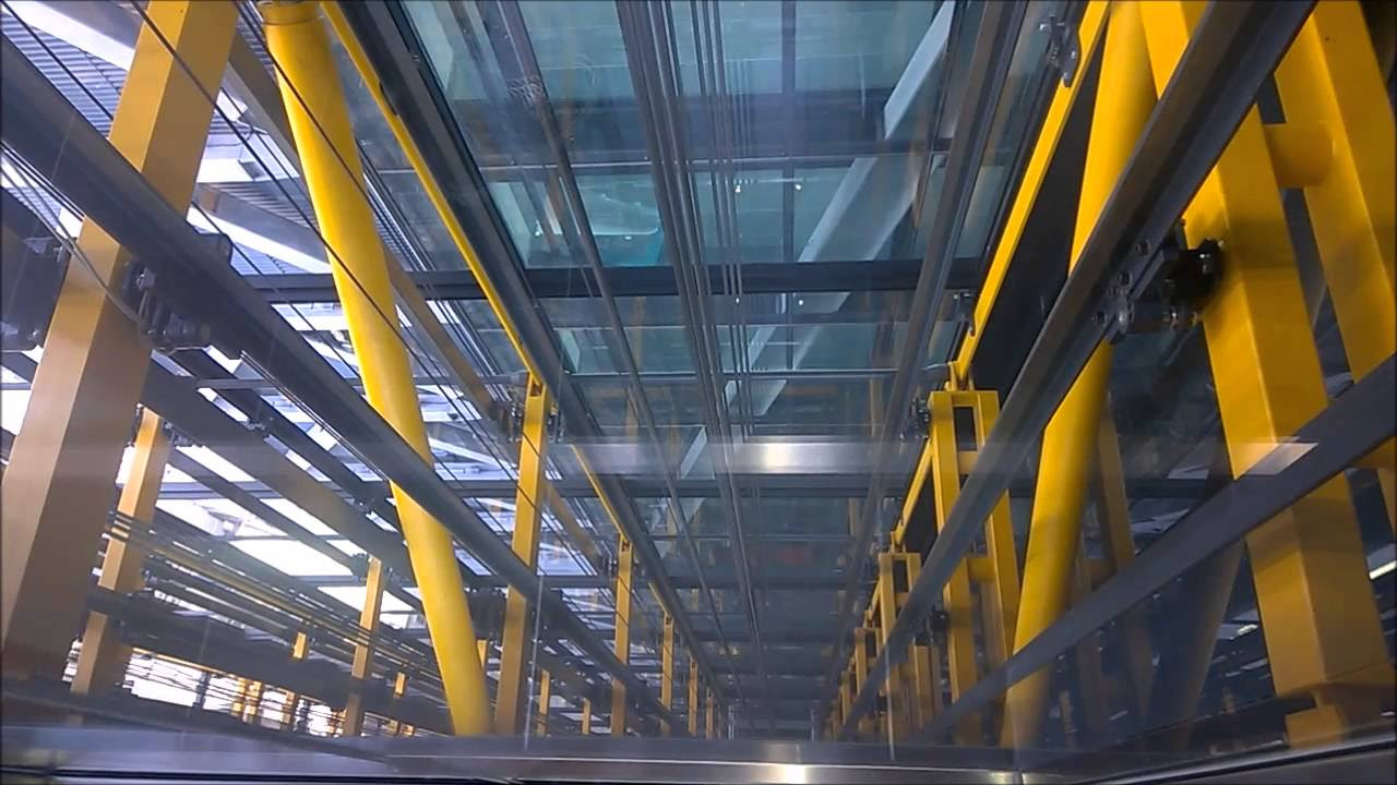 Fastest liftelevator in Europe Kone  Leadenhall Building aka Cheese Grater