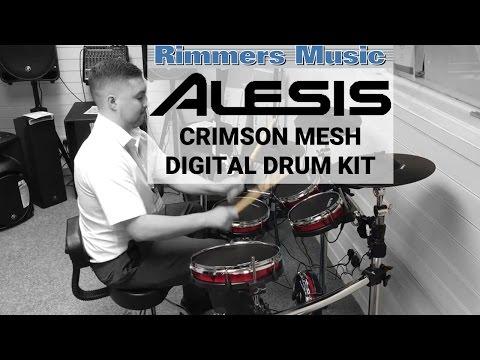 Alesis Crimson Mesh Digital Drum Kit - Rimmers Music