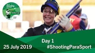 Day 1 | World Shooting Para Sport | Osijek 2019