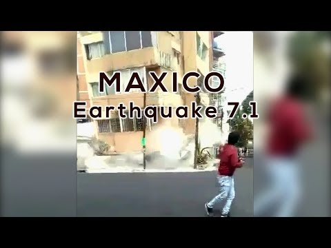 Earthquake in Maxico City Live Cam [Richter Scale - 7.1] (19.09.2017)