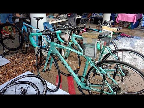 Bianchi Trek JAVA จักรยานเสือหมอบ มือหนึ่ง มือสอง เฟรมคาร์บอน ตลาดนัดจักรยาน TOT  เจ้าของร้านสุดหล่อ