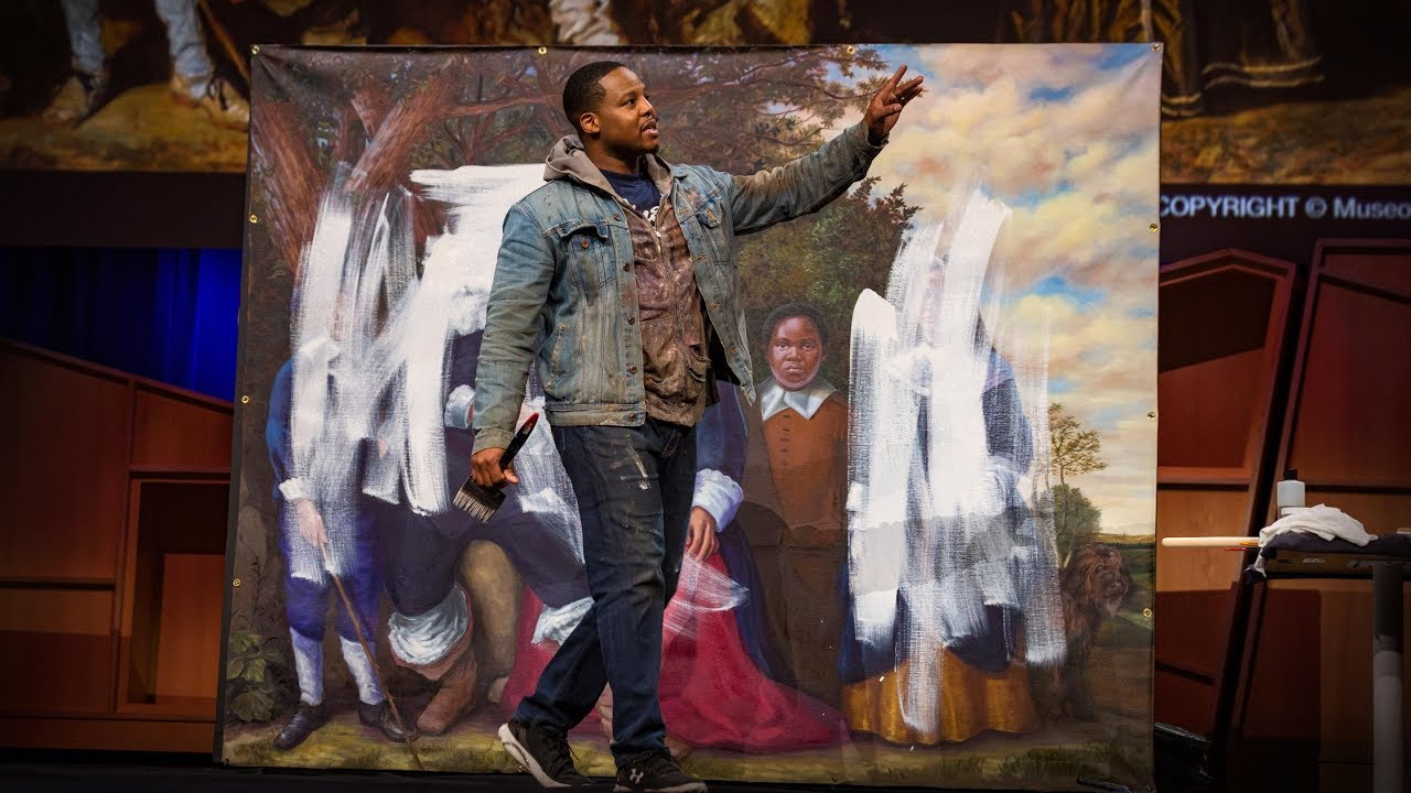 Can art amend history? A Live TED Talk with Titus Kaphar