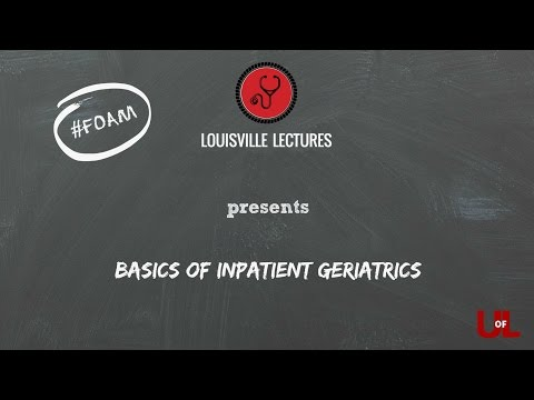The Basics Of Inpatient Geriatrics With Dr. Neamtu