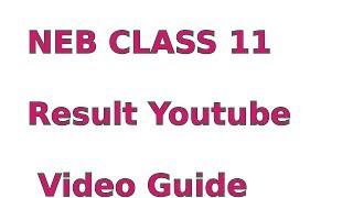 neb class 11 result 2074 result