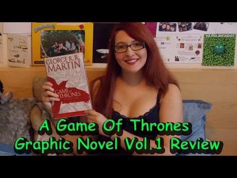 Game Of Thrones Graphic Novel Vol  1 By Daniel Abraham (review) #booktubesff