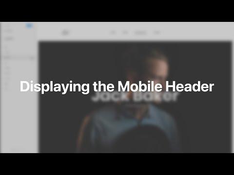 Displaying The Mobile Header | YOOtheme Documentation (Joomla)