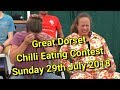 Chilli Eating Contest - Great Dorset Chilli Festival - Sunday 29th July 2018
