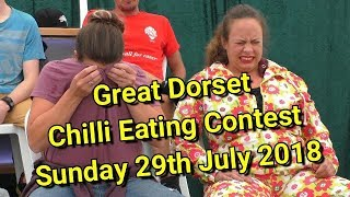 Chilli Eating Contest - Great Dorset Chilli Festival - Sunday 29th July 2018