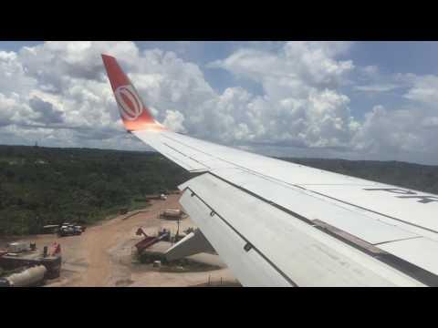 GOL 737-800 Landing in Rio Branco - AC I Pousando em Rio Branco-AC