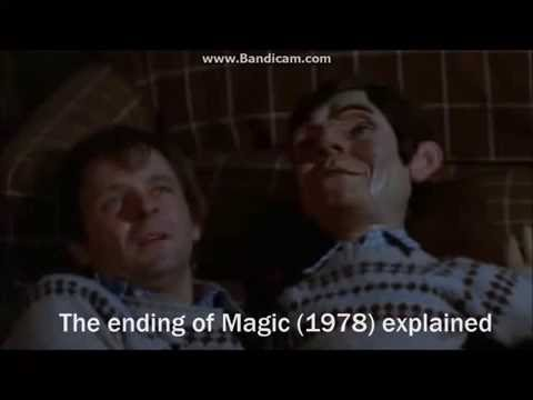 Magic 1978 - ending explained. Fats was crazy and not the innocent Corky.