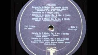 Ruggiero Ricci / Ernesto Bitetti: Cantabile in D major (Paganini)