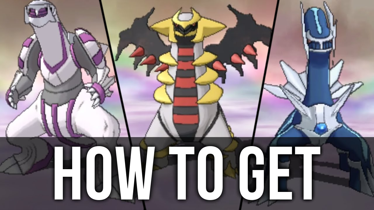 How To Get Dialga Palkia And Giratina In Pok 233 Mon Omega