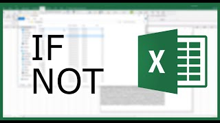 Video Excel IF Function #4: Excel NOT Function | Excel in Minutes download MP3, 3GP, MP4, WEBM, AVI, FLV Februari 2018