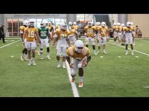 VOL CAMP: WR and DB Drills