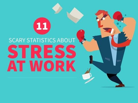 11 Scary Statistics About Stress At Work