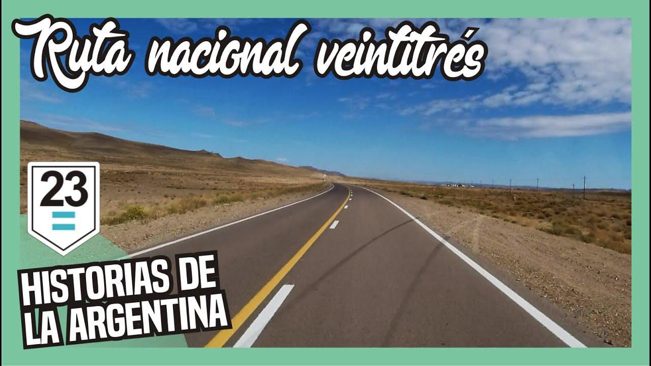 🌄Por la RUTA 23🌞a Ing. JACOBACCI para conocer LA TROCHITA🚂🚃 - Rio Negro - Patagonia Argentina