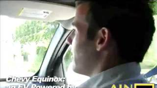 Fuel Cell Hydrogen Chevy Equinox test drive w/ Shad Balch of General Motors
