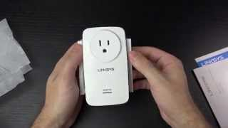 linksys re6700 ac1200 wifi range extender unboxing