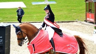 Champion DM 2015: Cathrine Dufour & Atterupgaards Cassidy Grand Prix Freestyle