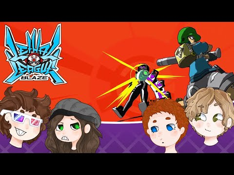 Lethal League Blaze - The newbies are beating us?! |