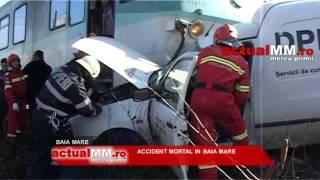 accident mortal tren baia mare actualmm